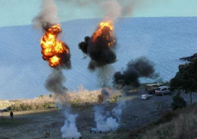 Battle simulation training