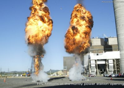 Fireballs by Firework Professionals
