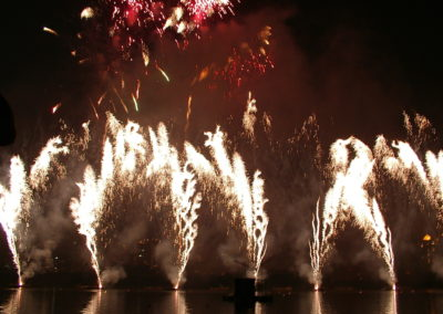 Firework shows New Zealand wide and overseas