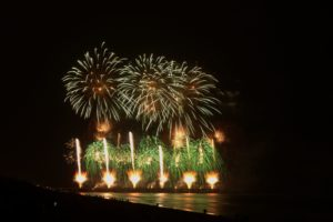 Christchurch Fireworks - the New Brighton Pier show