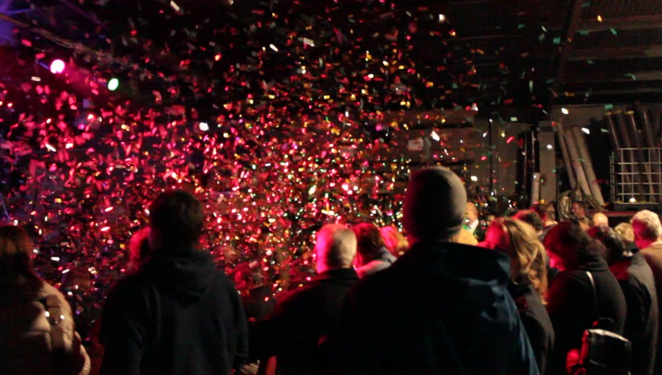ANZAC parade confetti