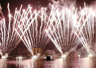 FPL in Shanghai pyromusical competition