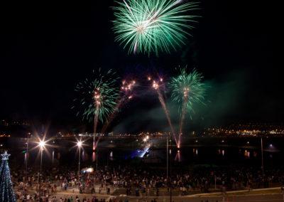 Westfield Albany fireworks
