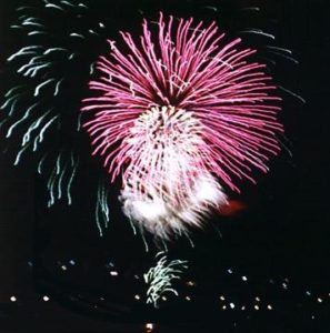 Fireworks in the sky - but what are fireworks?