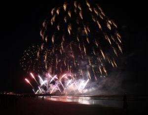 Pier fireworks 2017 finale