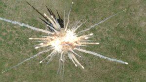 SPFX smoke explosion