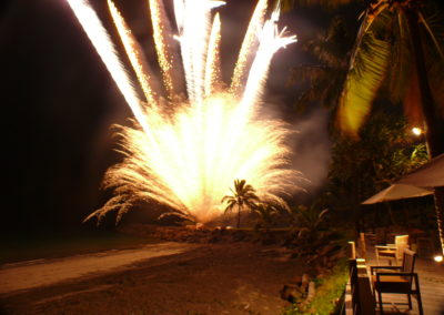 NYE fireworks in Fiji
