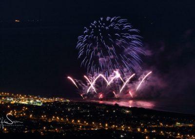 Pier fireworks - Geoff Soper Photography