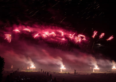 Set piece pyromusical  Picture C. Marek