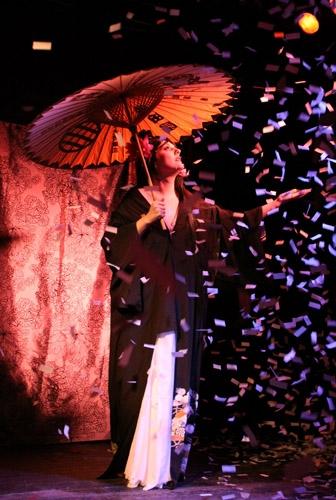 Stage confetti
