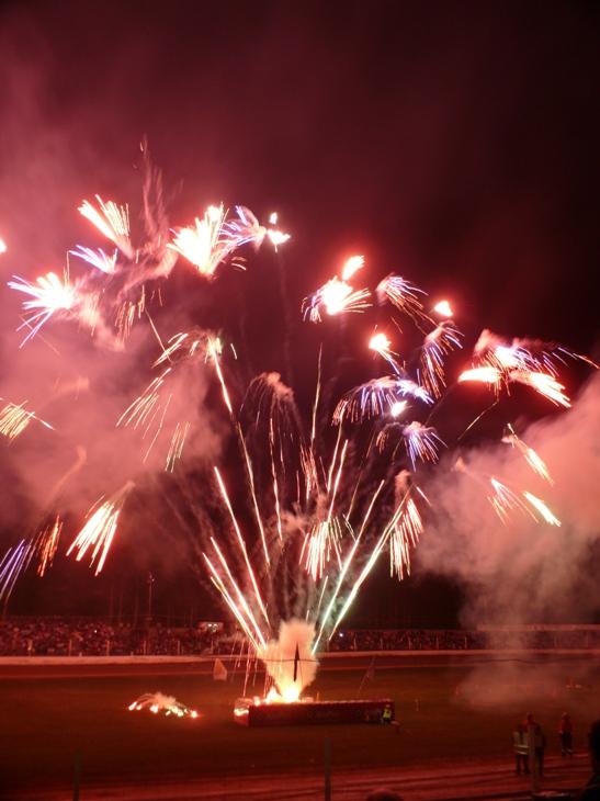 speedway fireworks