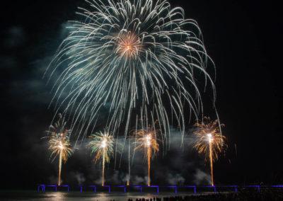 New Brighton Fireworks piers
